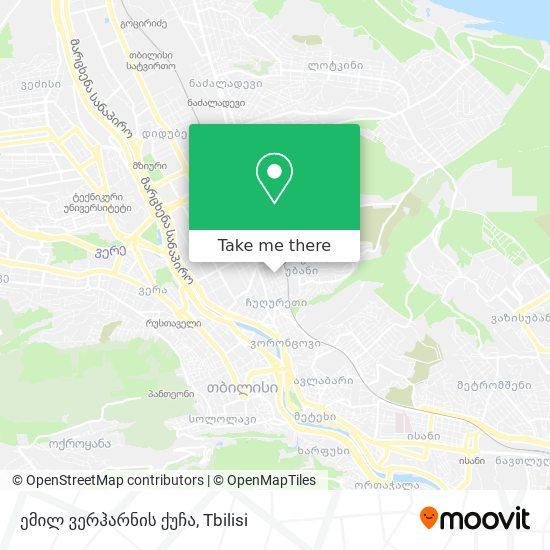 ემილ ვერჰარნის ქუჩა map