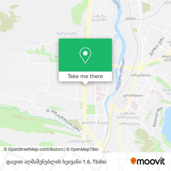 დავით აღმაშენებლის ხეივანი 1.6 map