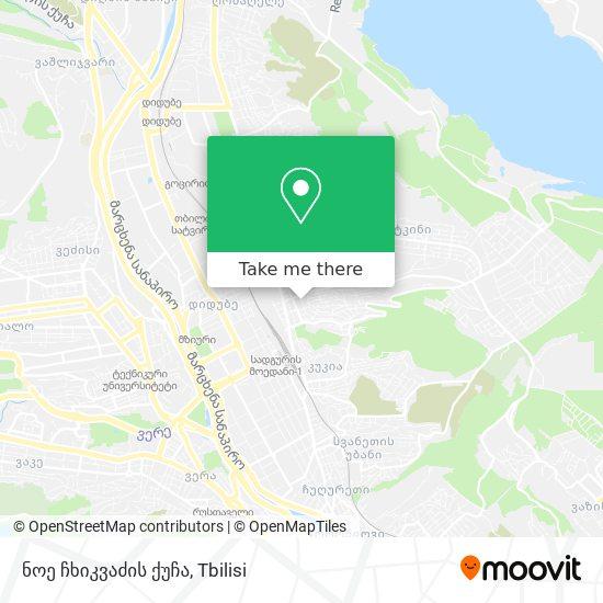 ნოე ჩხიკვაძის ქუჩა map
