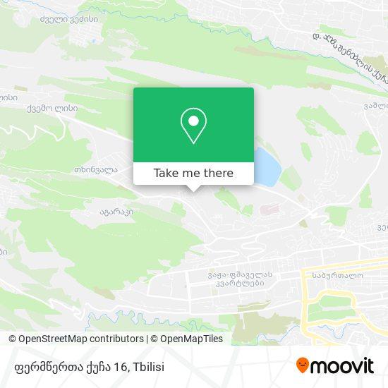 ფერმწერთა ქუჩა 16 map