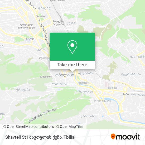 Shavteli St | შავთელის ქუჩა map