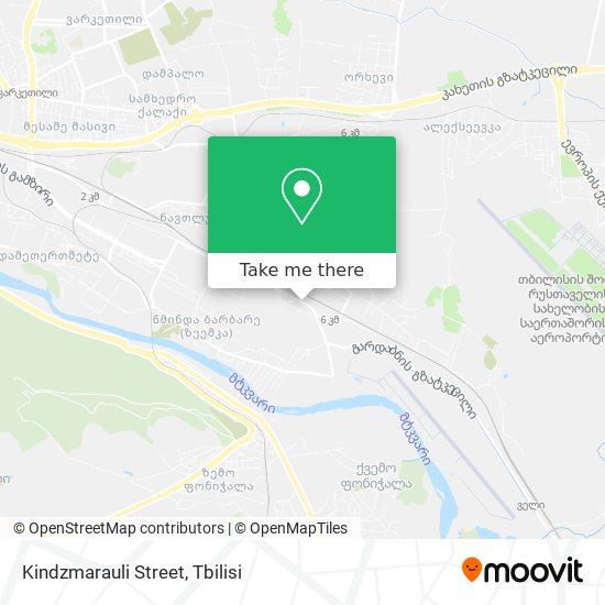 Kindzmarauli Street map