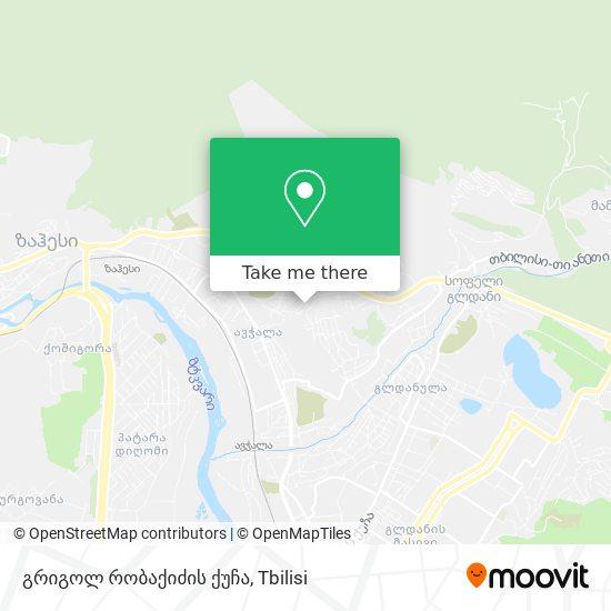 გრიგოლ რობაქიძის ქუჩა map