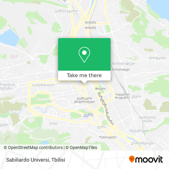 Sabiliardo Universi map