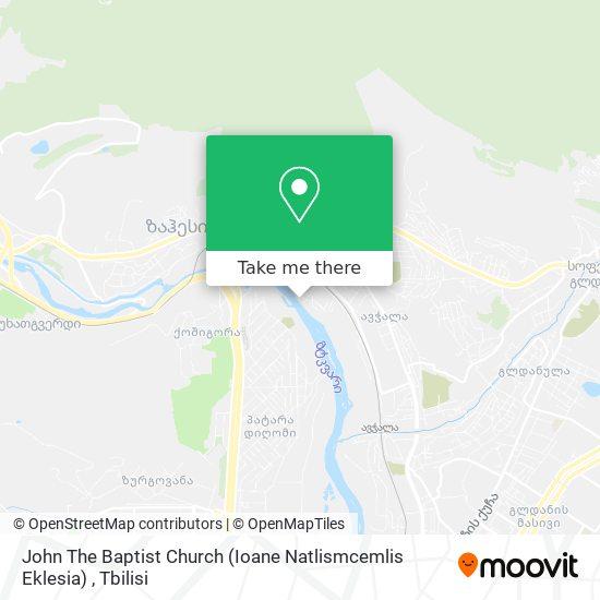 John The Baptist Church (Ioane Natlismcemlis Eklesia) map