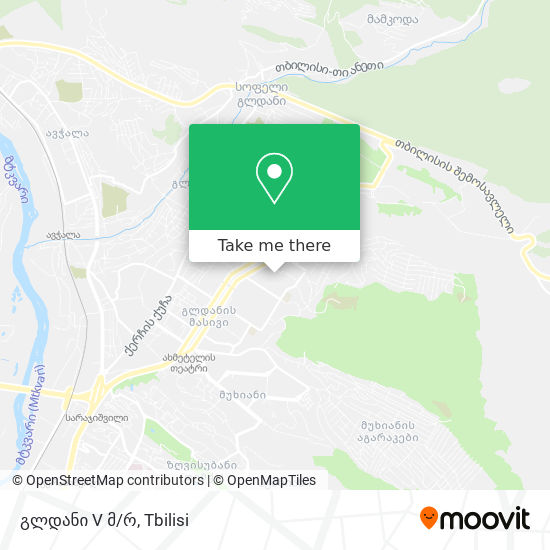 გლდანი 5 მკრ. (Gldani 5) map