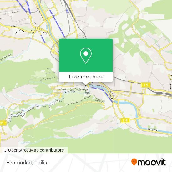 Ecomarket map