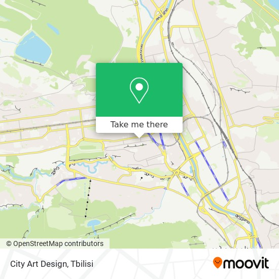 City Art Design map