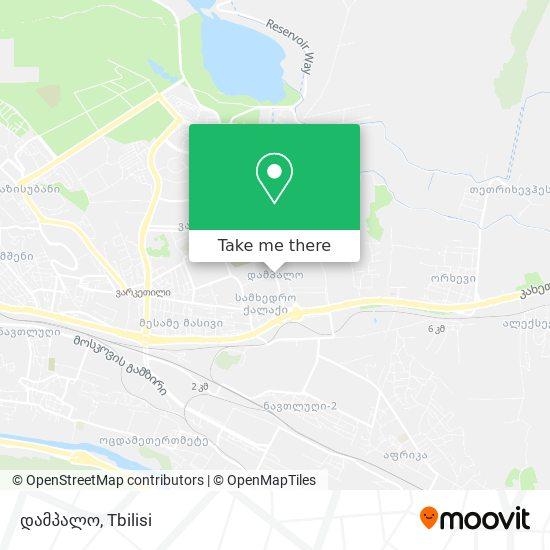 დამპალო (Dampalo) map