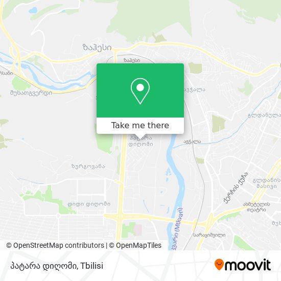დიღმის ჭალა map