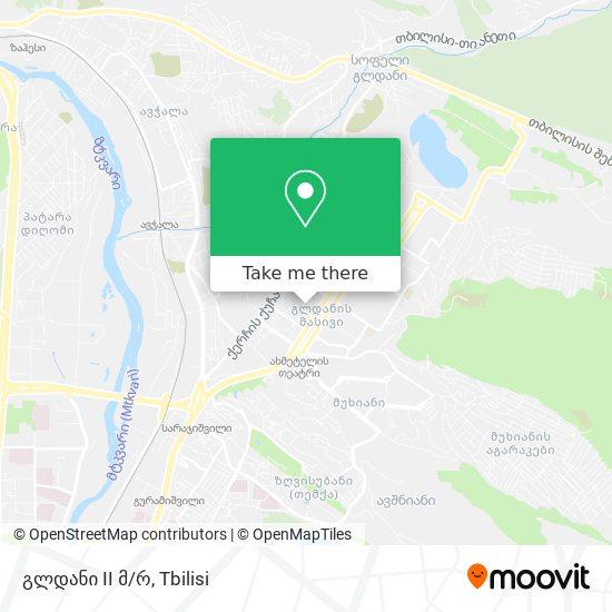 გლდანი 2 მკრ. (Gldani 2) map