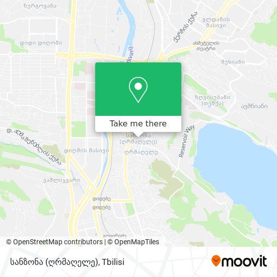სანზონა map