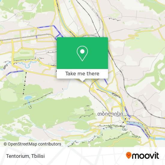 Tentorium map