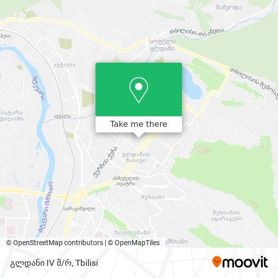 გლდანი 4 მკრ. (Gldani 4) map