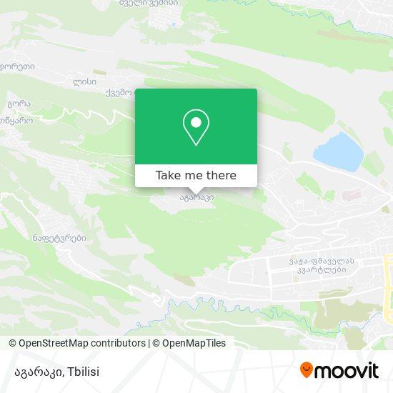 აგარაკი map