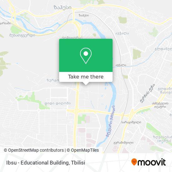 Ibsu - Educational Building map
