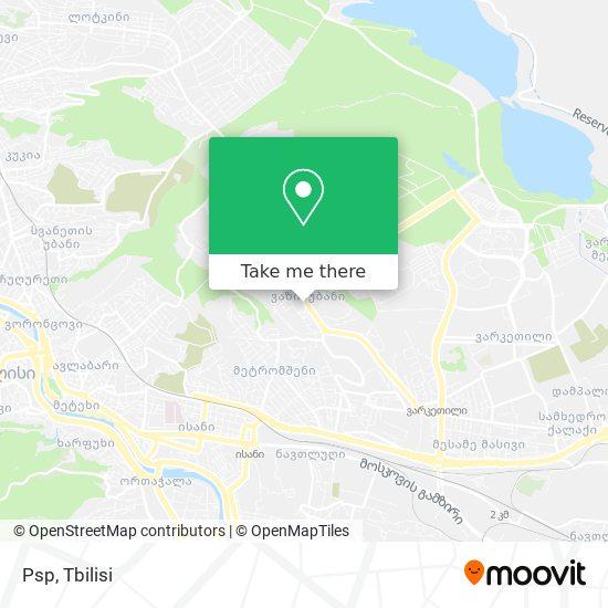 Psp map