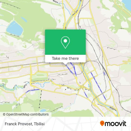 Franck Provost map