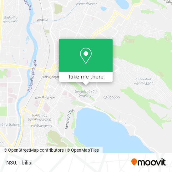 N30 map