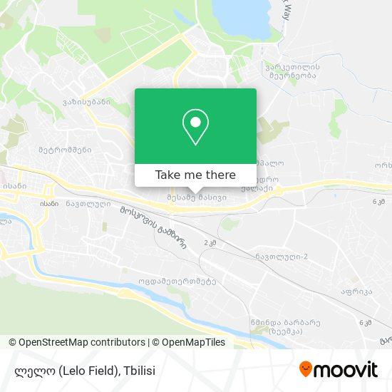 ლელო (Lelo Field) map
