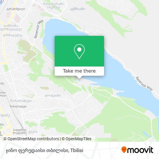 Gino Paradise Tbilisi map