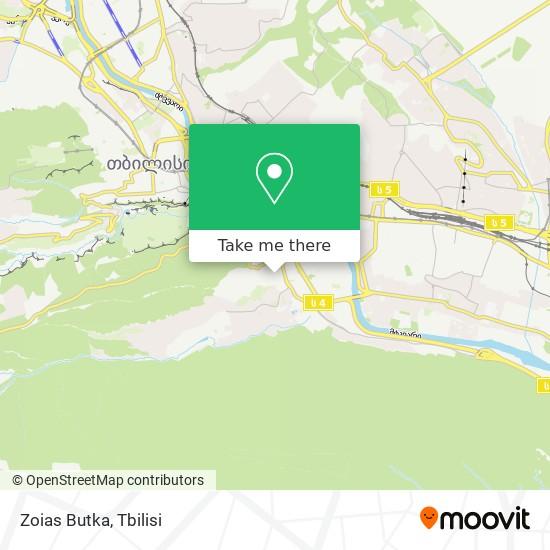 Zoias Butka map