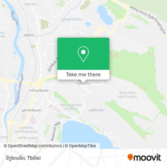 მუხიანი map