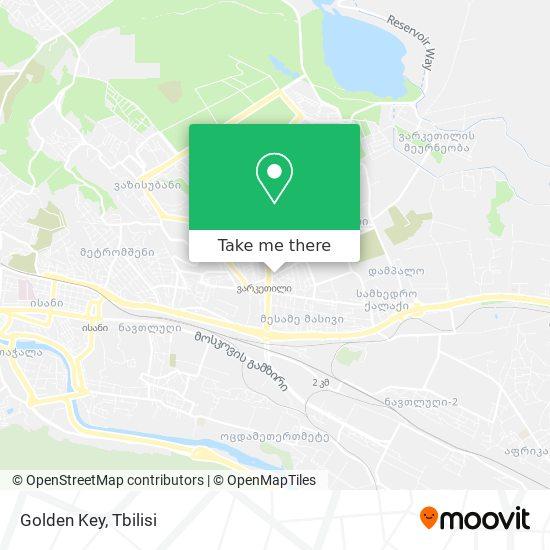 Golden Key map