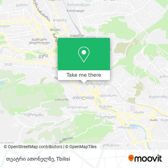 თეატრი ათონელზე map