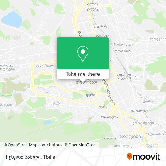 ჩეხური სახლი map