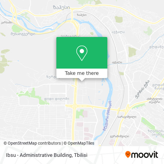 Ibsu - Administrative Building map