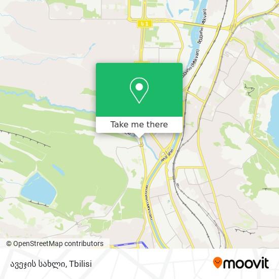 ავეჯის სახლი map