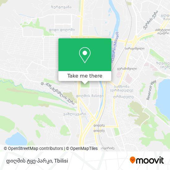 დიღმის ტყე-პარკის map