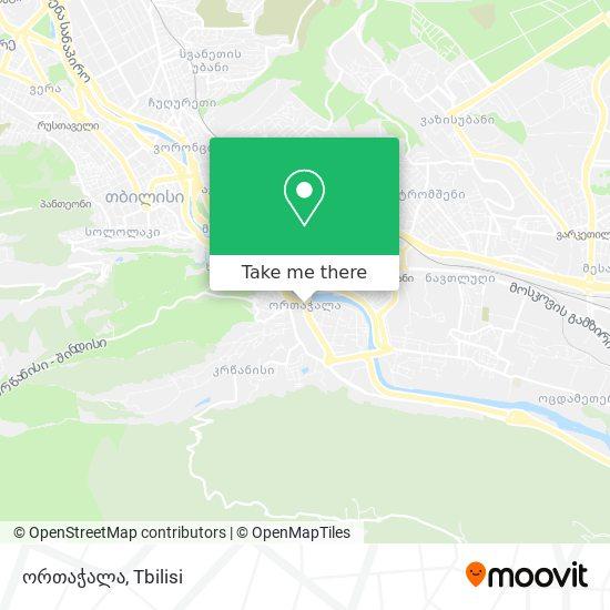 ორთჭალა map
