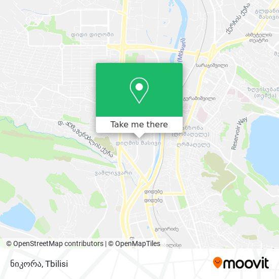 ნიკორა map