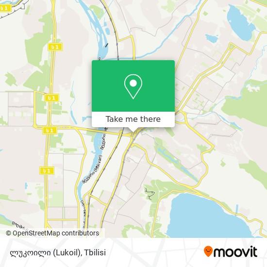 ლუკოილი (Lukoil) map
