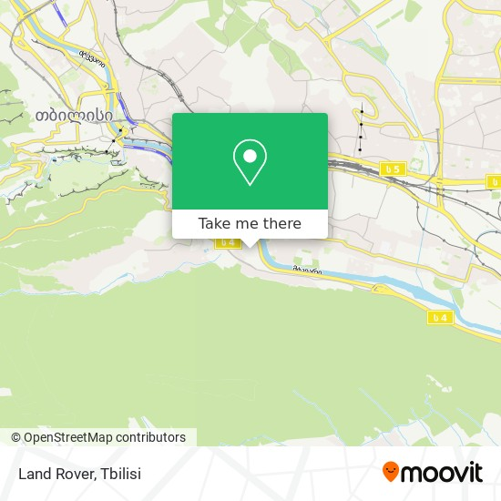 Land Rover map