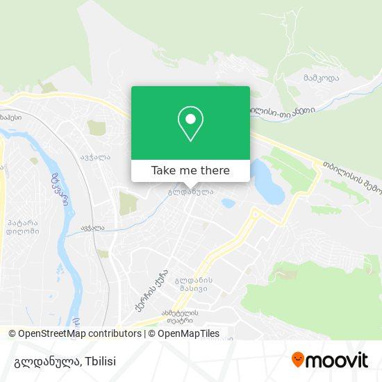 გლდანულა map
