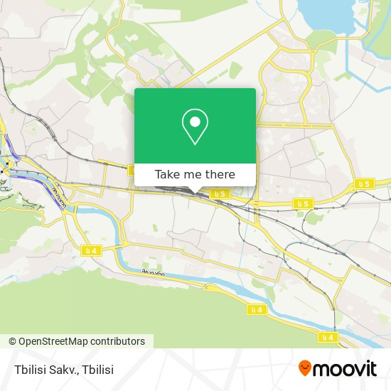 Tbilisi Sakv. map