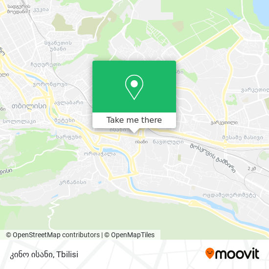 კინო ისანი map