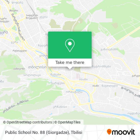 Public School No. 88 (Giorgadze) map