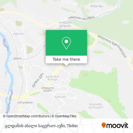 გლდანის ახალი საცურაო აუზი map