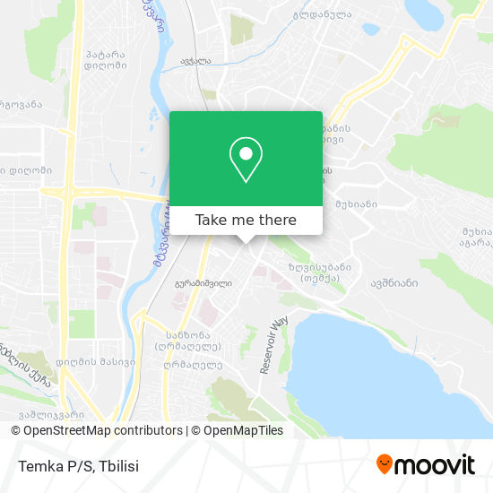 Temka P/S map