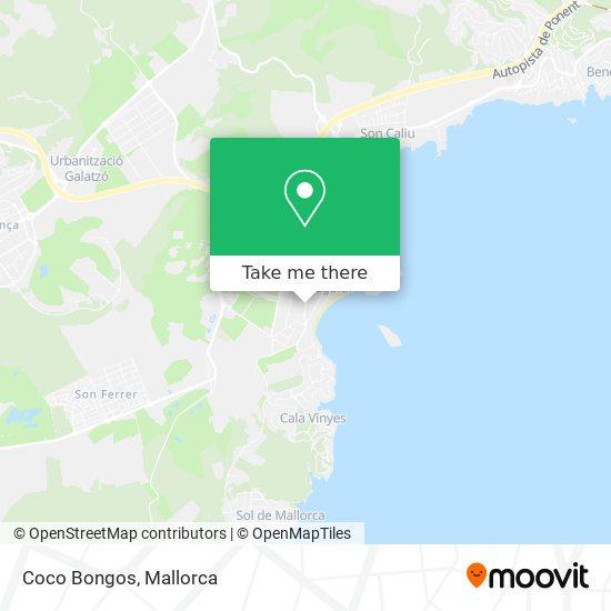 mapa Coco Bongos