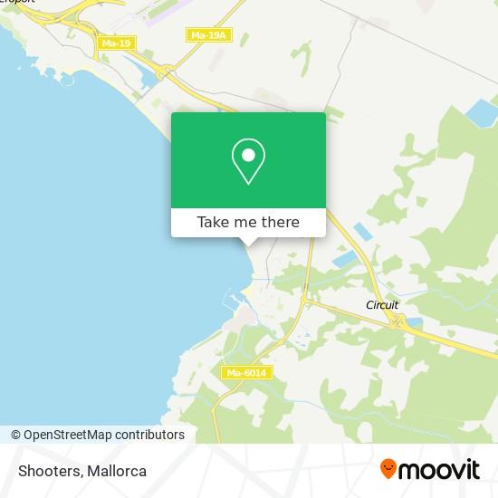 mapa Shooters