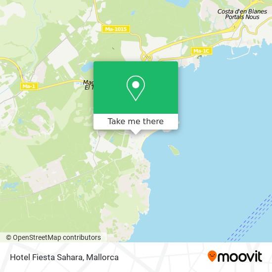 Hotel Fiesta Sahara plan