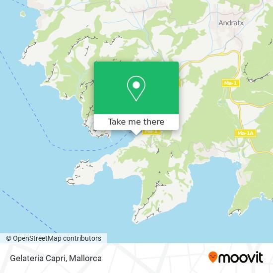 Gelateria Capri plan