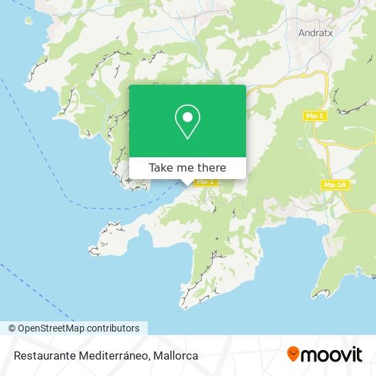Restaurante Mediterráneo plan