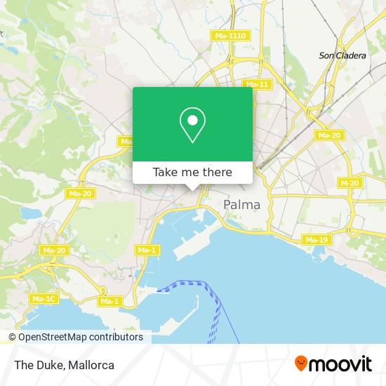 mapa The Duke