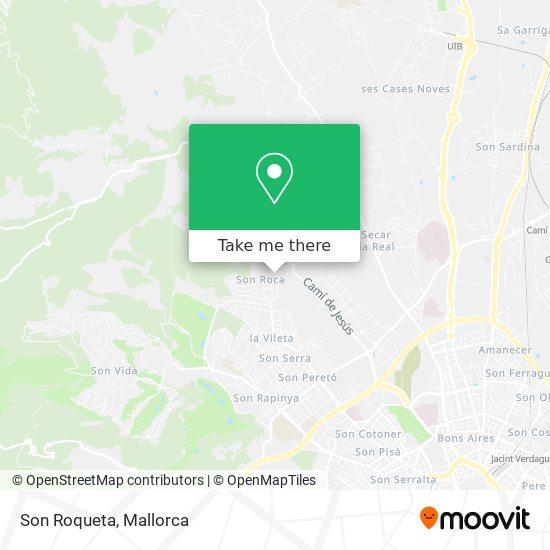 mapa Son Roqueta